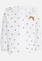 POP CANDY - Girls  Hooded Jacket White