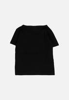 POP CANDY - Short Sleeve Printed Tee Black