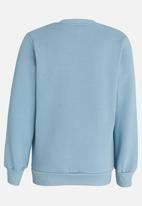 POP CANDY - Printed Dino Sweat Top Pale Blue