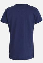 POP CANDY - Short Sleeve Printed Tee - Navy