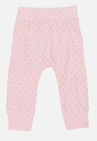 POP CANDY - Printed Legging Pale Pink