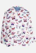 POP CANDY - Butterfly Printed Jacket Multi-colour