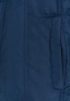 POP CANDY - Zip Through Hooded Jacket Navy