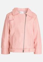 POP CANDY - Girls Biker Jacket Mid Pink