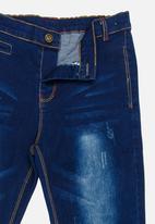 POP CANDY - Straight Leg Jeans Blue