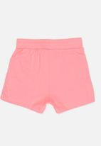 POP CANDY - Knit Shorts Mid Pink
