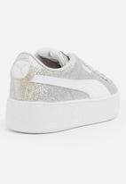 PUMA - Vikky Platform Glitz AC Sneaker Silver