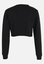 Rebel Republic - Frill Detail Sweater Black