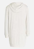 Rebel Republic - Hooded Dress Mid Grey