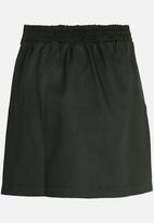 Rebel Republic - Pocket Detail Skirt Dark Green