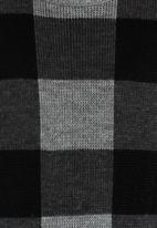 Rebel Republic - Check Jersey Black