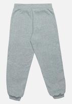 Rebel Republic - Flower Embroidered Pants Grey Melange