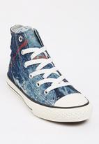 Converse - Chuck Taylor Denim  Splatter High Top Sneaker Grey