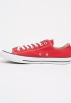 Converse - Chuck Taylor Canvas Lo Sneakers Red