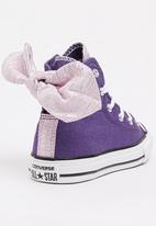 Converse - Chuck Taylor Bow Back Spring Shine High Top Sneak Mid Purple