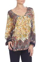 Yes - Paisley batwing blouse
