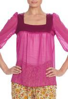 LABEL FEMME - Chiffon blouse