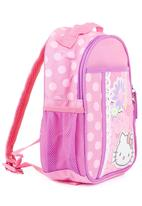 Zoom - Pink backpack with purple trim