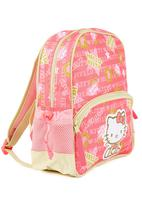 Zoom - Pink backpack with green detail