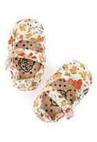 Myang - Autumn floral Mary-Janes