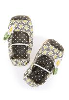 Myang - Daisy peep-toe baby shoes