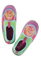 Zoom - Barbie slip-on trainers