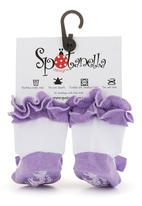 Spotanella - Lilac pumps with non-slip soles