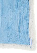 Phoebe & Floyd - Blue reversible blanket