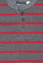 Phoebe & Floyd - Striped body vest