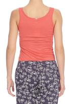 CRAVE - Tank top with silver trim