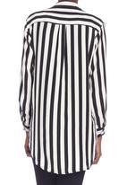 Slick - Striped long-sleeve shirt