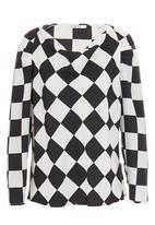 Yes - Harlequin blouse