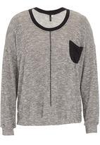Slick - Lurex sweat shirt