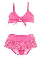 Phoebe & Floyd - Pink bikini with polka-dots