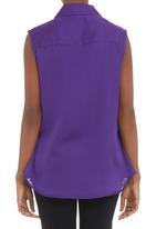 AMANDA LAIRD CHERRY - Quarto slinky shirt