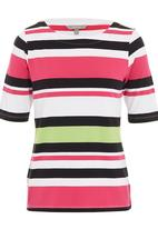 YARRA TRAIL - Wide stripe tee