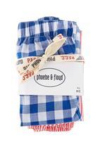 Phoebe & Floyd - Sleep shorts in blue