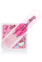 Sanrio-Hello Kitty - Hello Kitty lunch container Pink
