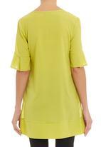 AMANDA LAIRD CHERRY - Lauro colourblock tunic