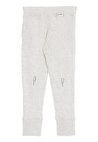 Petit Pois - Oatmeal leggings