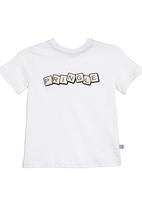 Pringle of Scotland - Printed T-shirt with Pringle detail