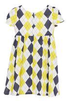 Pringle of Scotland - Argyle printed babydoll dress