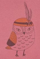 Petit Pois - Owl-print T-shirt