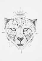 Petit Pois - Cheetah-print T-shirt
