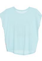 Petit Pois - Swan-print T-shirt with drop hem