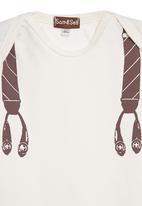 Sam & Seb - Onesie with suspenders
