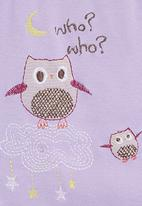 Just chillin - Owl babygro