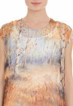 Cheryl Arthur - Tunic with bushveld print