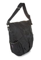 Momi Baby Bags - Brocade nappy bag with contrast inner