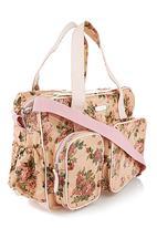 LA PEARLA - Floral nappy bag